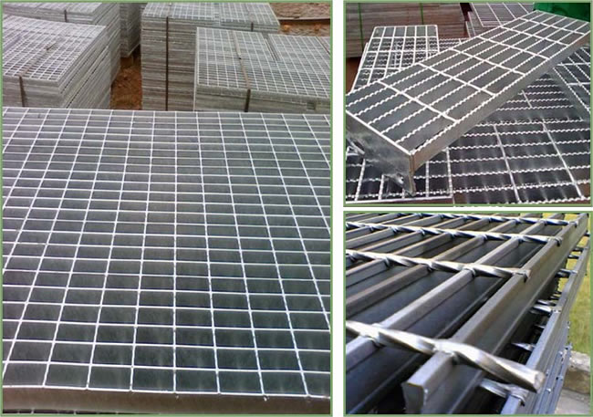 Compound Steel Bar Gratings